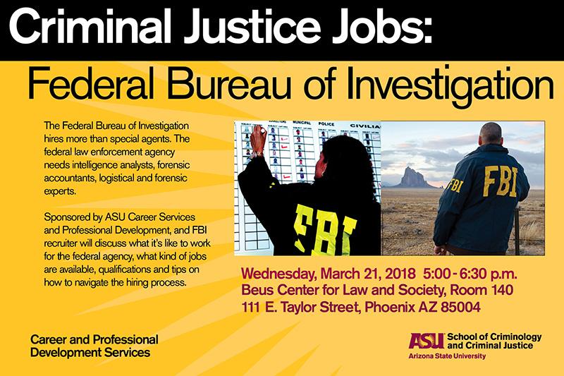 Criminal Justice Jobs Fbi School Of Criminology And Criminal Justice
