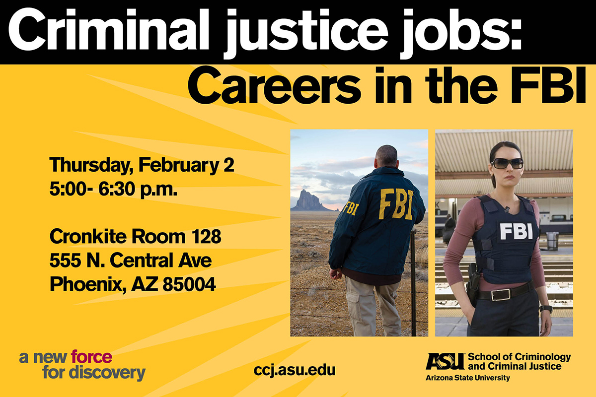 Criminal Justice Jobs Careers In The Fbi School Of