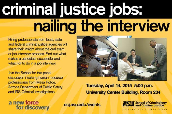 criminal justice org