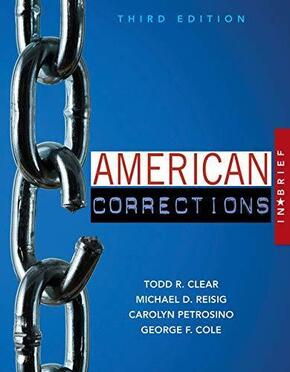 American Corrections in Brief, 3rd edition