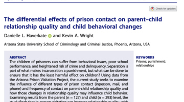 Differential effects of prison contact